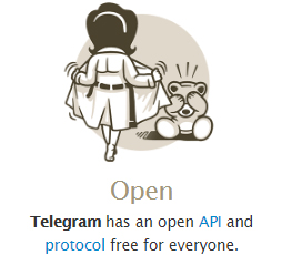 telegram open